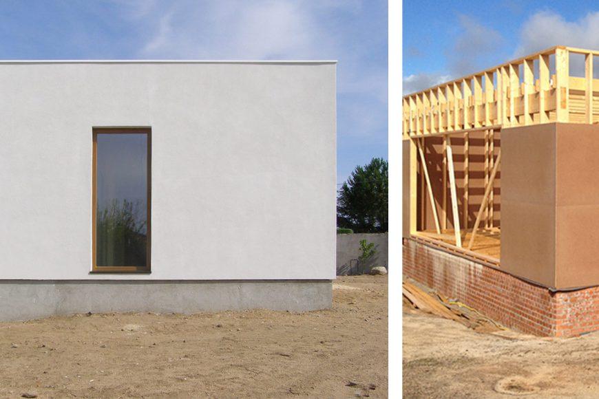 C mo reducir el consumo energ tico contruyendo con entramado de madera casa valdemorillo rc - Casas entramado ligero ...