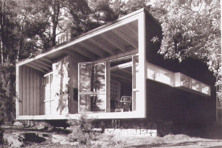The Box, La Cabaña Primitiva de Ralph Erskine