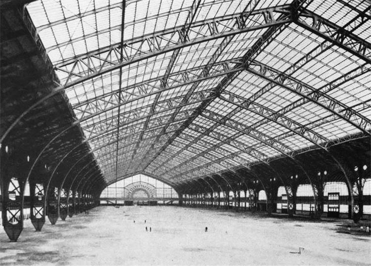 Galerie des Machines, Ferdinand Dutert, Victor Contamin, 1889: el acero se encuentra a sí mismo.