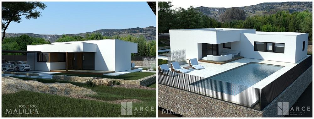 Arquitectura Passivhaus con tablero SuperPan VapourStop