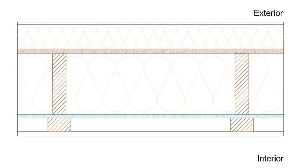 Vivienda sostenible con Arquitectura Passivhaus con tablero SuperPan VapourStop