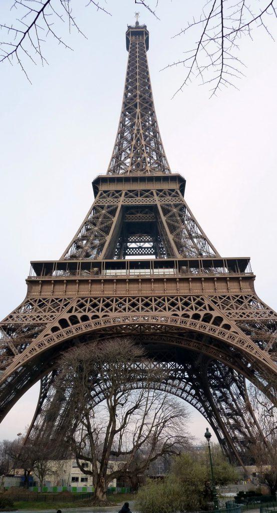 Imagen 1. Torre Eiffel en París (Fuente: autor).