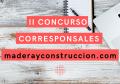 CONVOCATORIA 2021 CORRESPONSALES MADERA Y CONSTRUCCIÓN